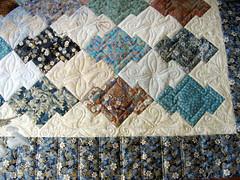 Puzzle Quilt closeup