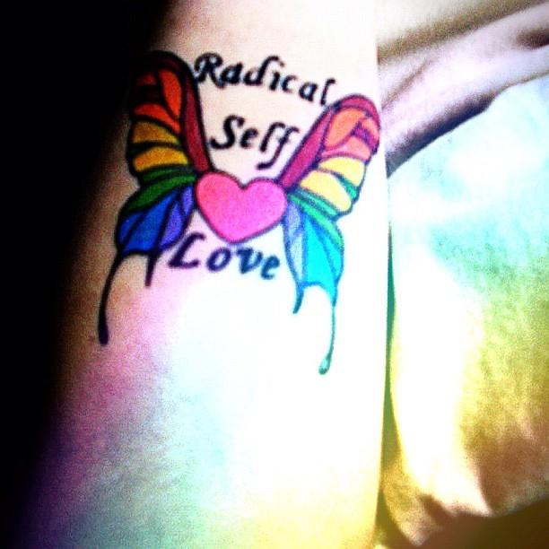 Hot lady tattoo ideas 25 ravishing tattoo idea quotes for Self love tattoos