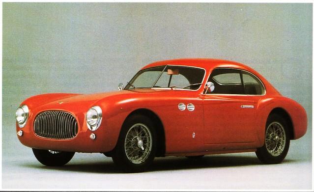 Cisitalia 202 by Pininfarina, 1947