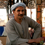Egyptian Man at Hurghada Market - Egypt
