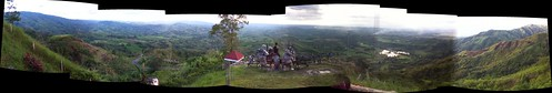 week 18, 2012: Panorama 5: View from The Overview, highest point in Davao-Bukidnon Highway, Quezon, Bukidnon
