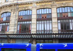 Montpellier, les grands magasins.