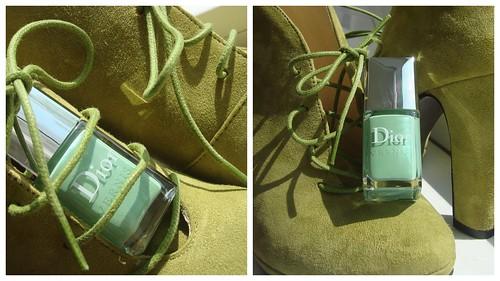 Dior waterlily коллаж