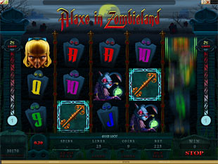 Alaxe in Zombieland slot game online review