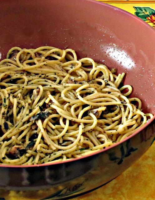 Vermicelli alle Sardine con Pesto di Menta (3)