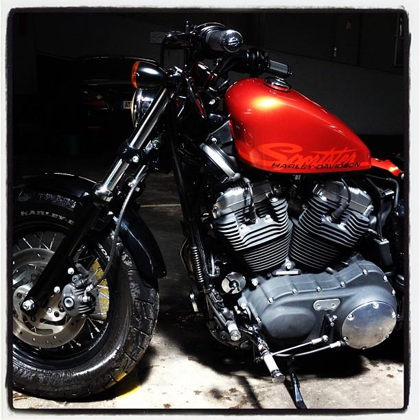 A VENDRE Harley-Davidson XL1200S Modèle 48 de juin 2011 plse RT http://t.co/dtX0JG1p