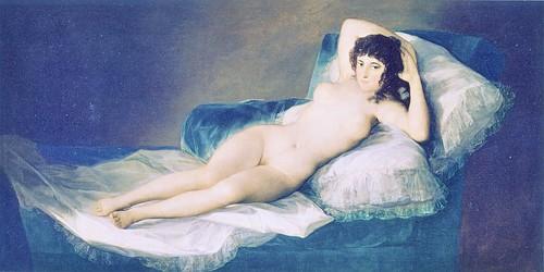 ゴヤ「裸のマハ」(プラド美術館) by Poran111