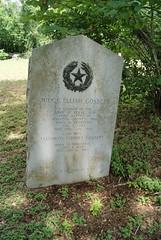 Photo of Elijah Gossett and Elizabeth Stone Edwards black plaque