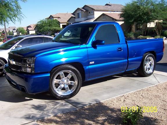 Daytona Blue Pearl Paint