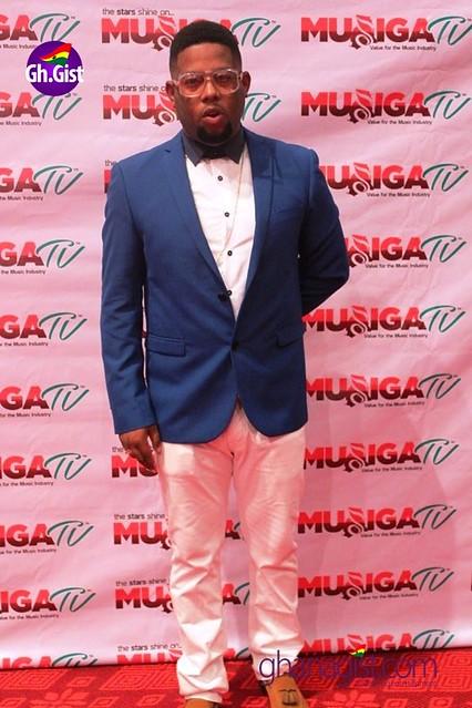 D-Black at Ghana Music Awards 2014