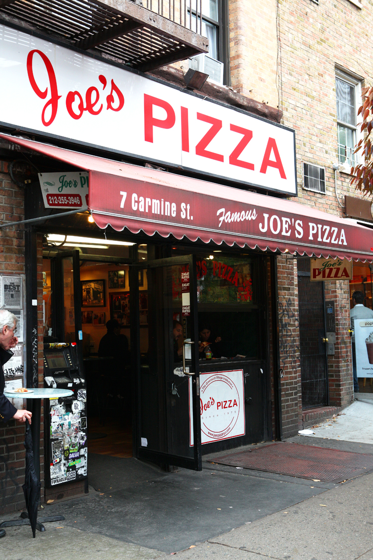 The Best Pizza in NYC Joe's