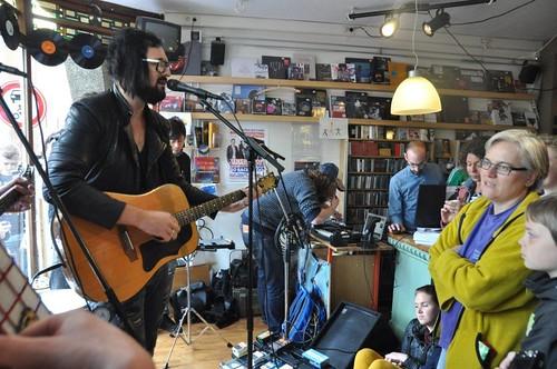 Record Store Day 2014 mashup foto - Recordstoreday 2014 Velvet A'foort - Blaudzun (c) Henry Krul  (20)