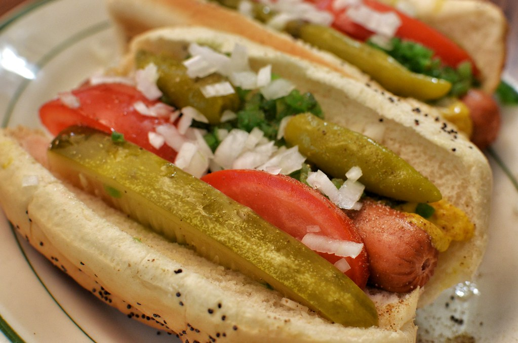 Mmm... Chicago Style Hot Dog