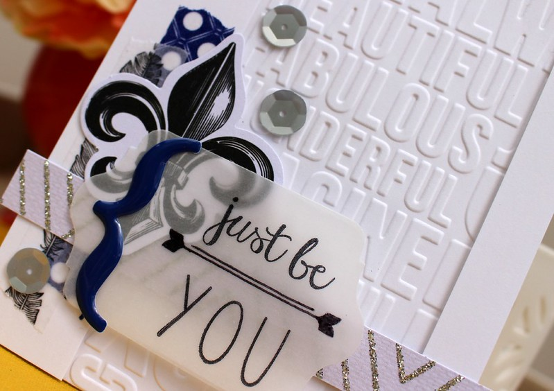 TERESA COLLINS DESIGNS Just Be You Card 2