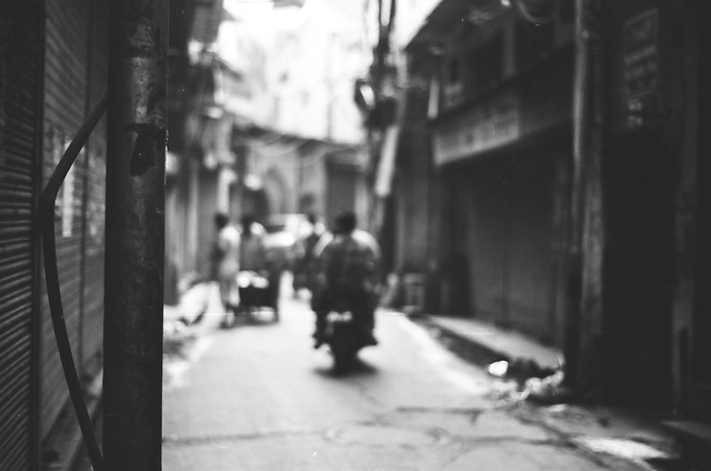 Delhi on B&W acros 100 pushed 3 stops and TMax400-18
