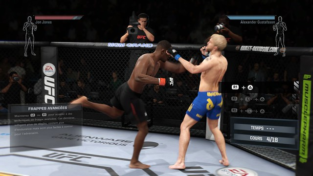 EA Sports UFC demo 2