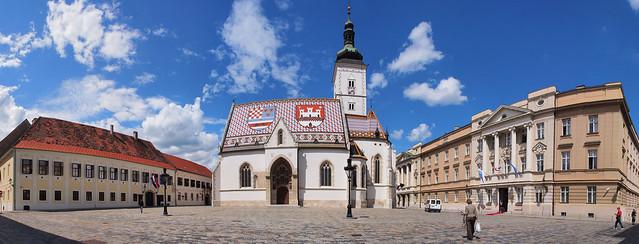 總統府, 聖馬可教堂與國會大廈