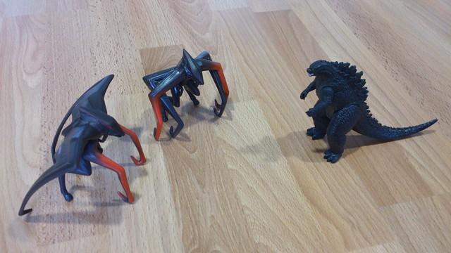 Bandai Godzi... Godzilla Vs Muto Toy