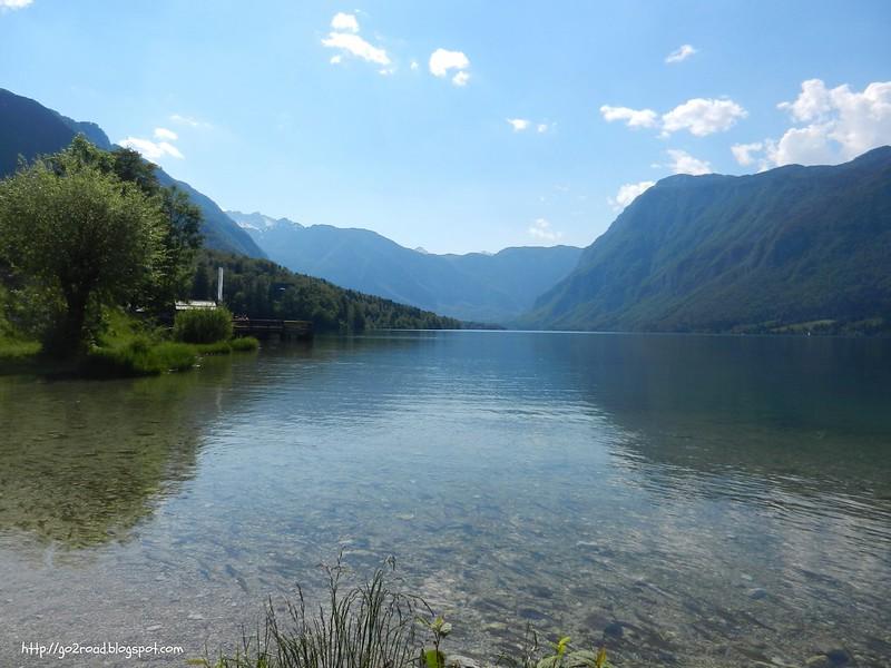Виды озера Бохинь