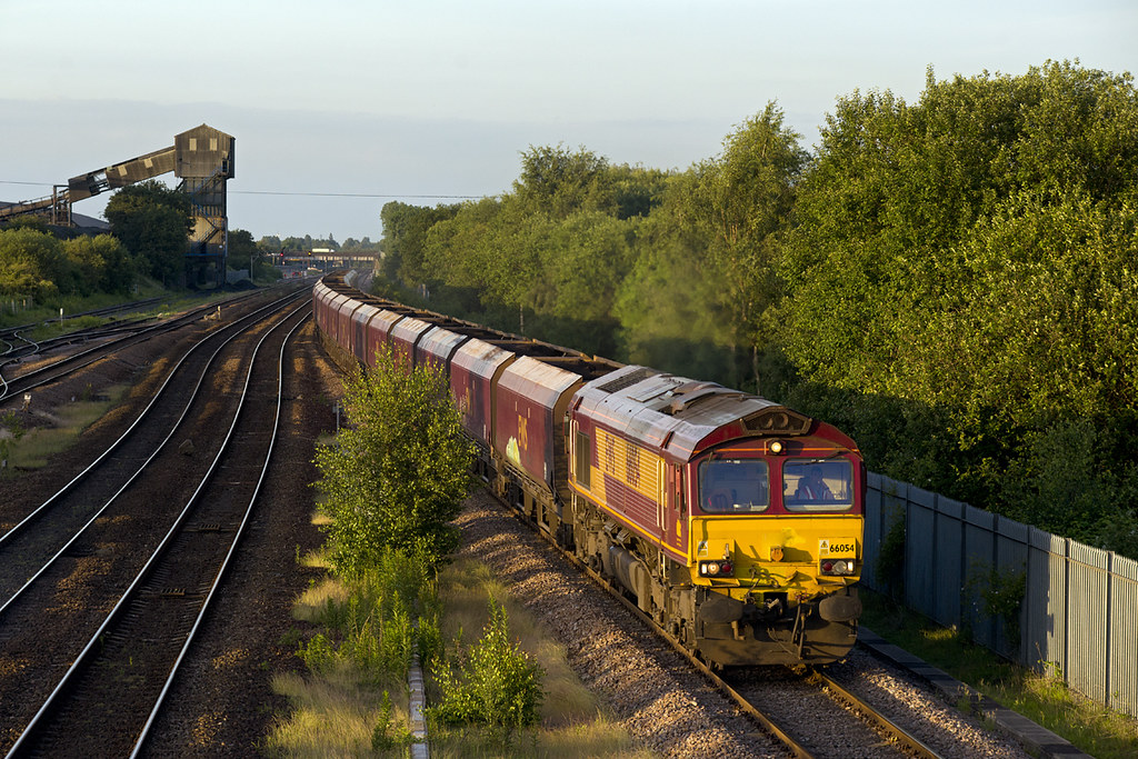 66054 Stainforth 6F75 Hull - Cottam 12-06-14