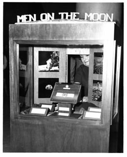 Dedication of Moon Rock Display, Missouri State Capitol, March 17, 1970 (MSA)