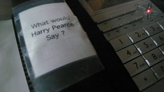 What would Harry Pearce say ?
