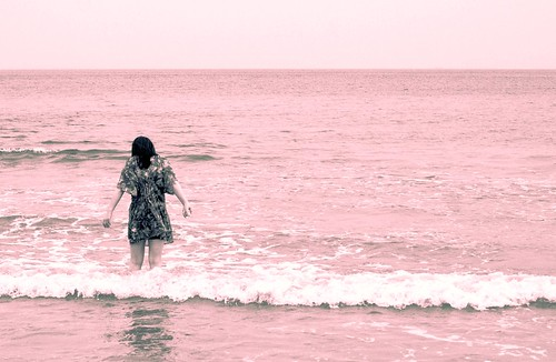 Yang Liu en rosa