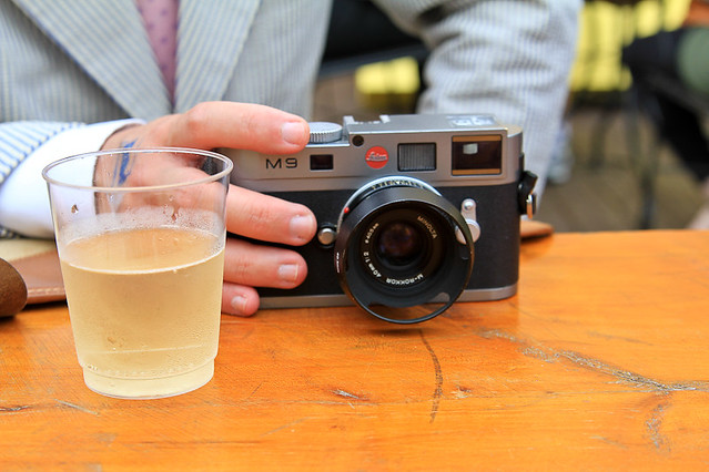 Leica M9 and prosecco