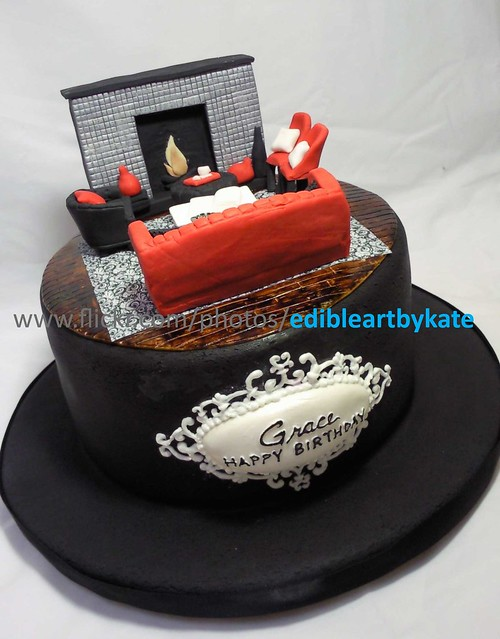 Interior Design Cake Flickr - Photo Sharing!