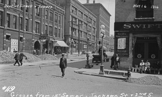 Second and Jackson, 1916