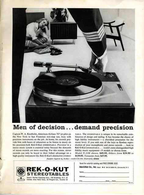Rek-O-Kut Turntable 1960