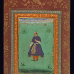 Album of Persian and Indian calligraphy and paintings, Portrait of Mandhū Singh, Walters Manuscript W.668, fol.29a