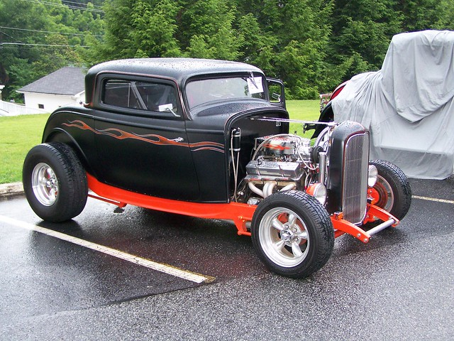 1932 RAT ROD FORD COUPE