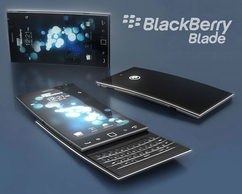 Blackberry Blade: Prototipo de Movil de Aluminio y Acrilico