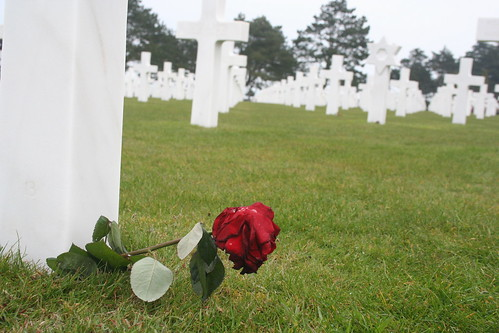 American Cemetary at Omaha Beach