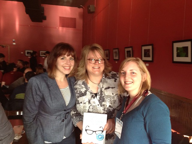 With @irishgirl & @nylons and their new book! #minnewebcon