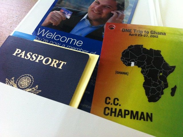 #ONEcampaign Luggage Tags & Passport