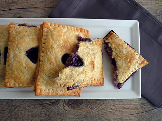 Blueberry Lemon Ricotta Turnovers
