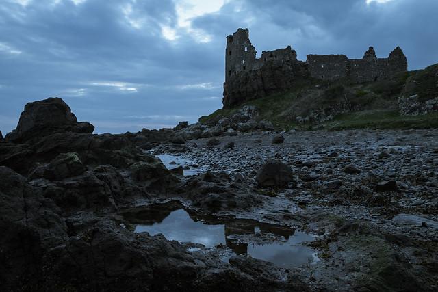 Dunure Castle, pre-dawn (IMG_9425)