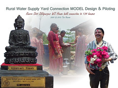 2012, WASH Award from Community as Token of Love