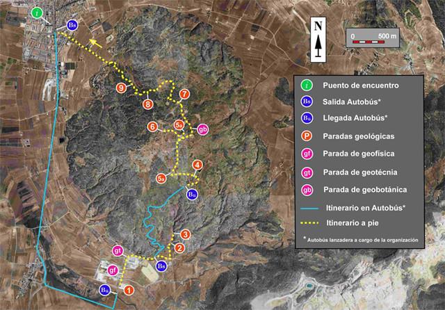 Geolodia 2012 - Cerro de la Sal, Pinoso