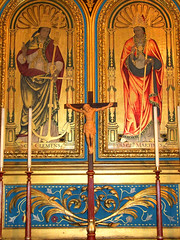 St Clement and St Martin by Ninian Comper