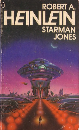 Starman Jones by Robert Heinlein.  New English Library 1980. Cover artist Gerald Grace