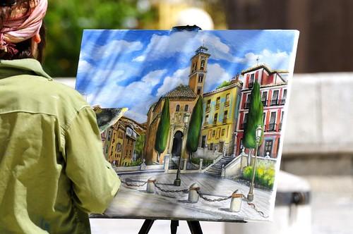 Pintando Santa Ana