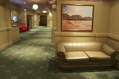 Wrest Point hotel hallways - hallway track and mingling