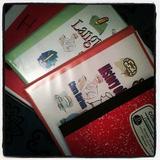 Getting #homeschool notebook samples ready for Connections conference in West Palm Beach with @karinkath.