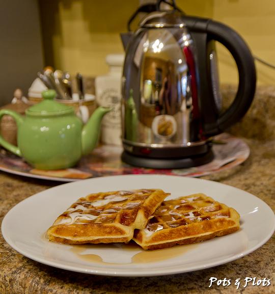 Gluten Free Friday Buttermilk Waffles Pots And Plots
