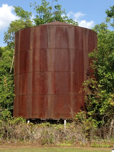 Large...is this a water cistern?