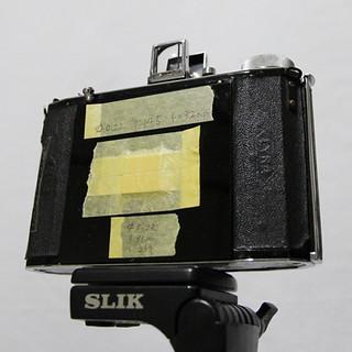 蛇腹カメラ改造ピンホールカメラ