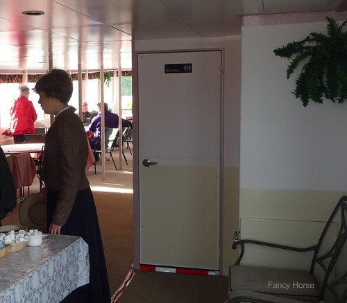 Coffee and tea served aboard the riverboat The Klondike Spirit
